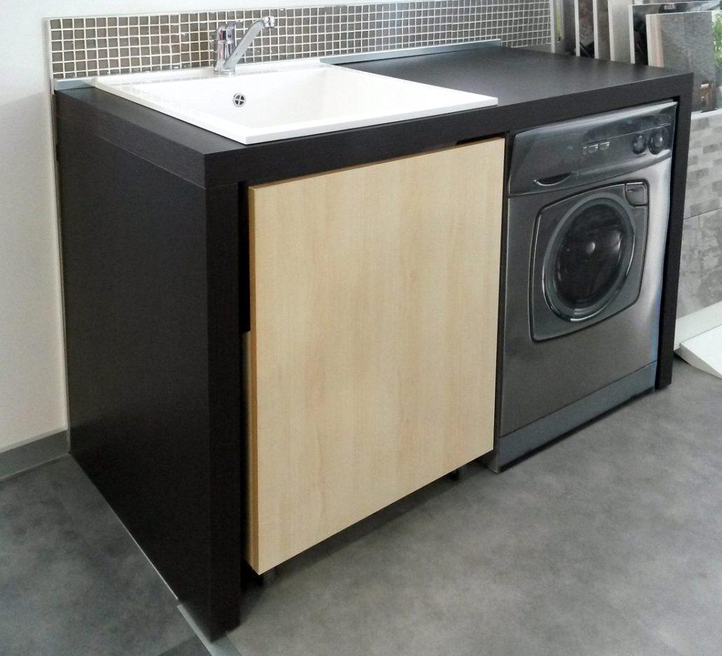 Mobile lavanderia spazio ceramiche bm - Mobile lavatoio ...