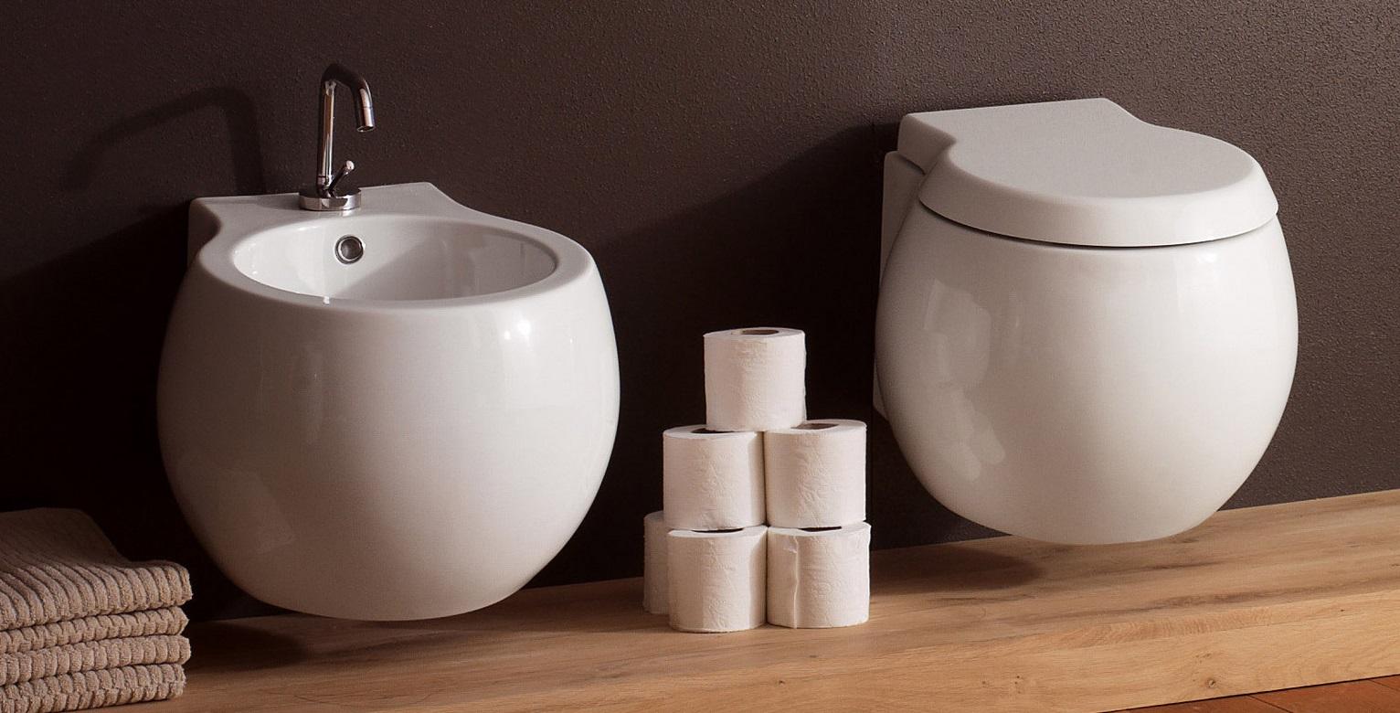 Sanitari sospesi ceramiche bm for Sanitari outlet